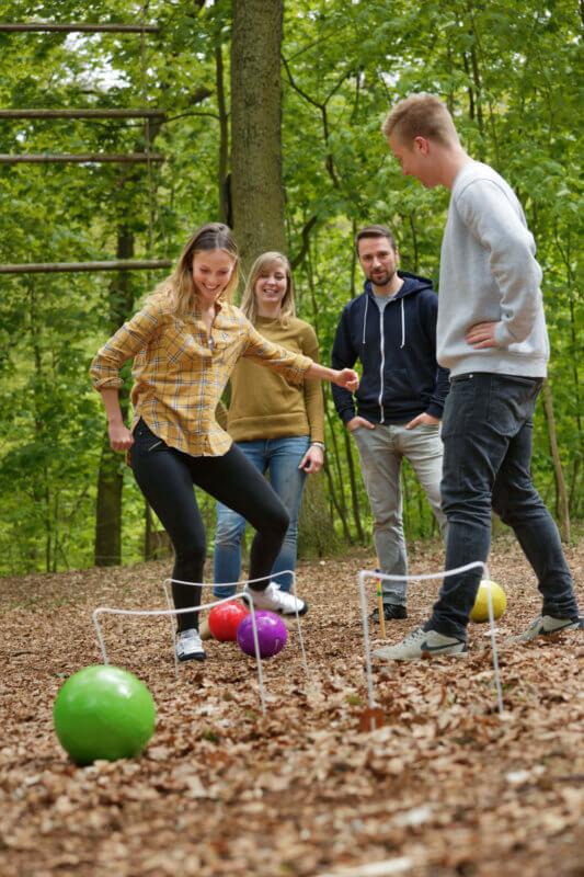 Spielewiese im AbenteuerPark Potsdam