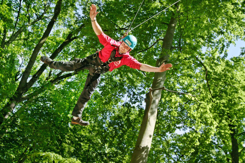 Junggesellenabschied: Giant Swing Special